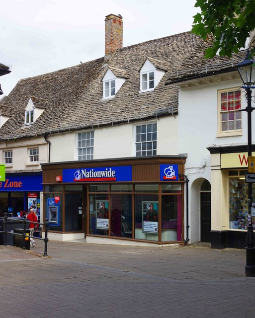 Nationwide Building Society, 13 Market Square, Witney, Oxon