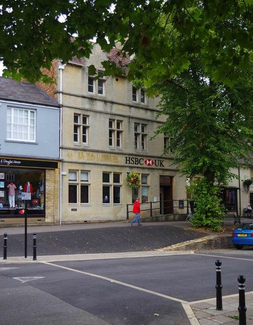 HSBC UK, 24 Market Square, Witney, Oxon