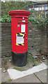 SX9292 : Redundant postbox, Exeter bus station by Derek Harper
