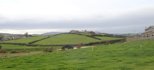 Drumlin top homestead in the Townland of Ballykeel