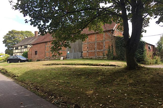 Barn at Pits Farm, near Shrewley