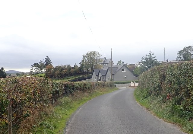 Houses on the Ballykeel Road