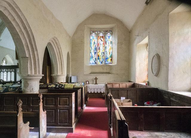 St Mary, Hinderclay - South aisle