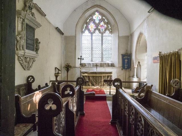 St Mary, Hinderclay - Chancel