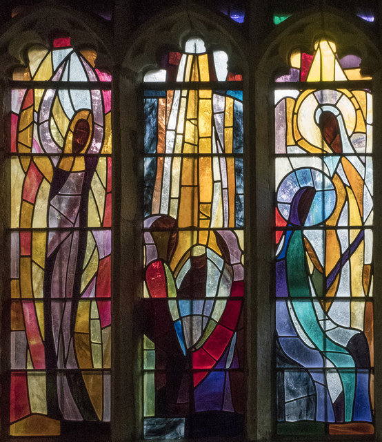 St Mary, Hinderclay - Stained glass window