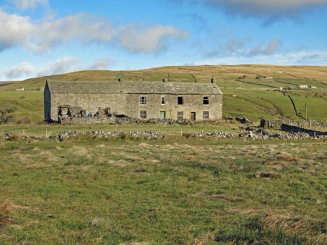 Farmland around Low Rigg
