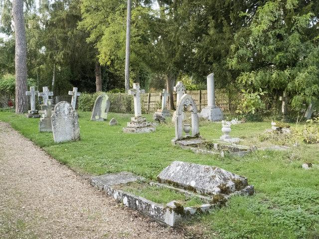 All Saints, Harston - Churchyard