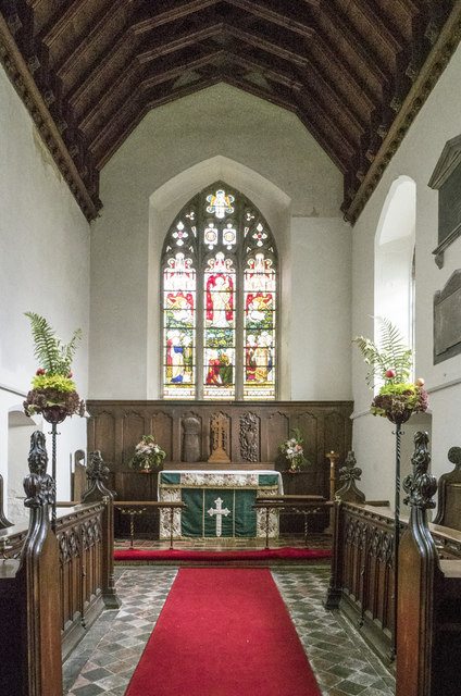 All Saints, Harston - Chancel