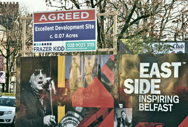 Newtownards Road/Templemore Avenue development site, Belfast (November 2018)