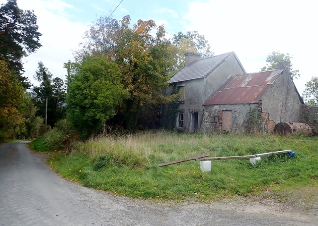 Derelict house on Bannfield Road