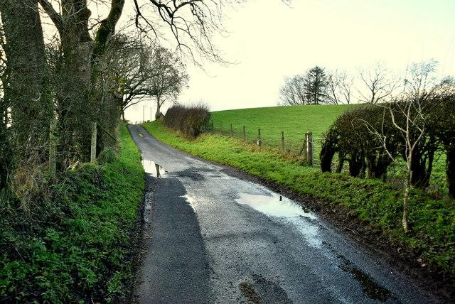 Wet along Stoneleigh Road