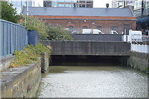 TQ3780 : Former Entrance to West India Dock by N Chadwick