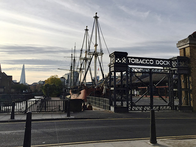 End of the afternoon at Tobacco Dock, Wapping