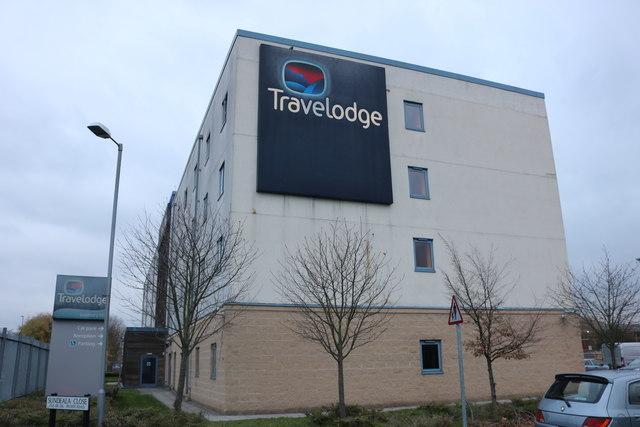 The Travelodge hotel, Sunbury