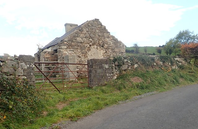Derelict cottage on the Ballymoney Road, Kilcoo