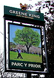 ST3091 : Parc y Prior name sign, Almond Drive, Malpas, Newport by Jaggery