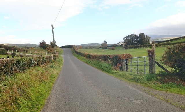 View East along Islandmoyle Road