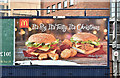 J3373 : McDonald's Christmas poster, Belfast (December 2018) by Albert Bridge