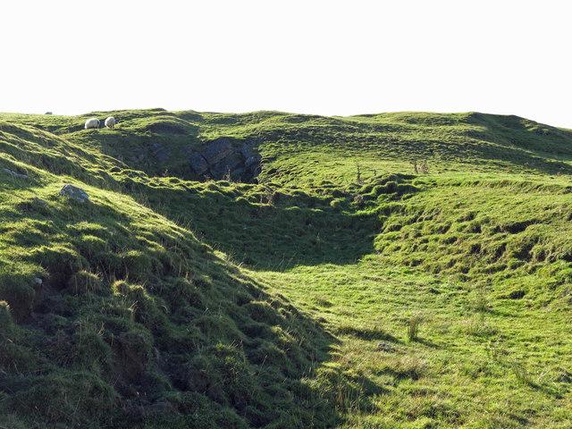 Disused quarry, White Hills