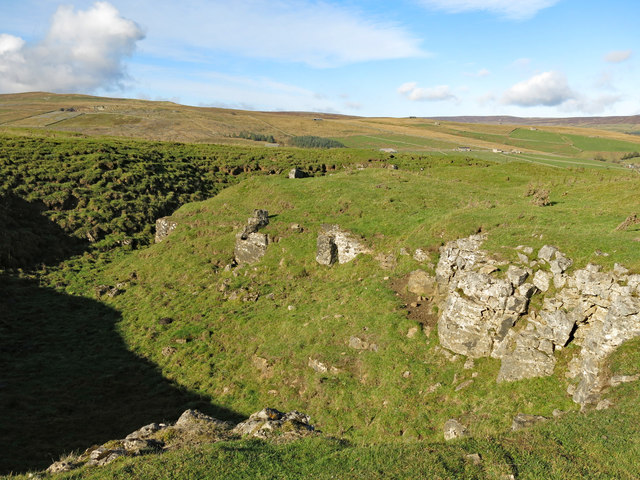 Another disused quarry, White Hills (2)