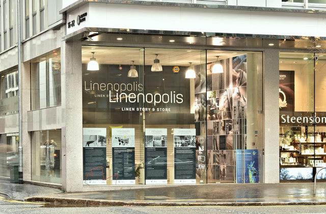 """Linenopolis"", Bedford Street, Belfast (December 2018)"