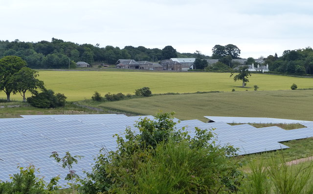 Wormit Solar Farm and St Fort Home Farm