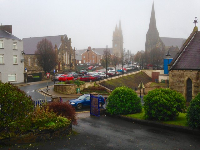 A cold misty morning, Omagh
