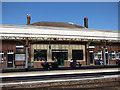 ST2225 : Refreshment room, Taunton station Up platform by Stephen Craven
