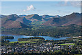 NY2522 : Keswick and Derwent Water from Latrigg by Ian Capper