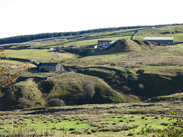 The valley of Ireshope Burn below Groove Heads Mine (disused) (2)