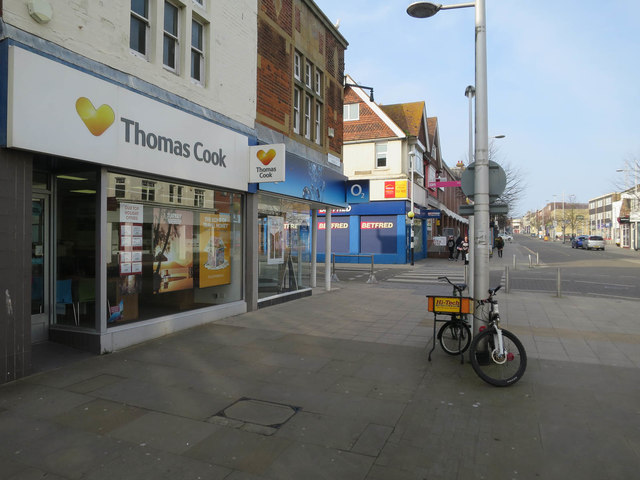 Thomas Cook, Lowestoft