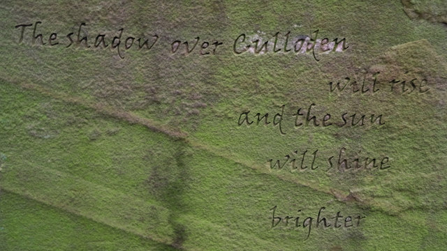 Inscription on Millennium Stone, Craig Wood