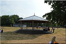 SU7682 : Bandstand, Mill Meadows by N Chadwick