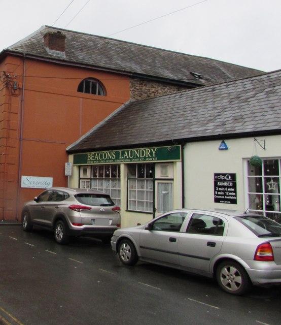 Beacons Laundry, St Mary Street, Brecon
