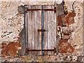NH6554 : Window shutters at Tullich Steading, Black Isle : Week 49