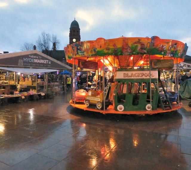 Carousel on Hyde Market