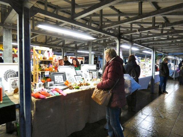 Artisan Market before Christmas