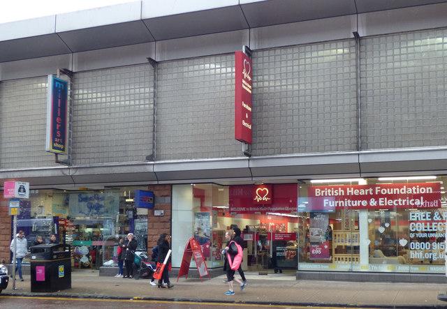 British Heart Foundation shop, Stockwell Street