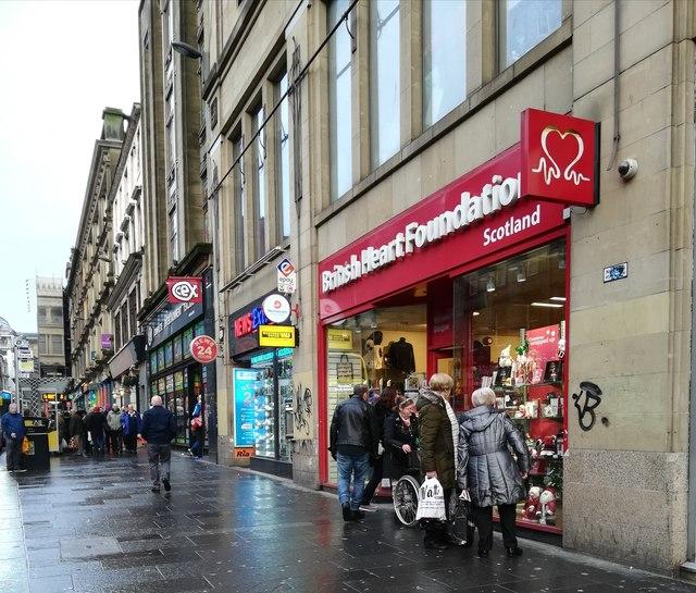 British Heart Foundation shop, Union Street