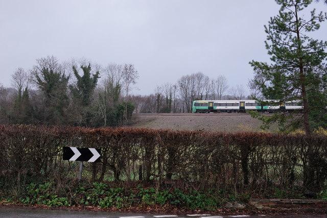 Railway Near Oxted