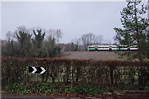 TQ3853 : Railway Near Oxted by Peter Trimming