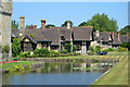 TQ4745 : Hever Castle Estate Houses by N Chadwick