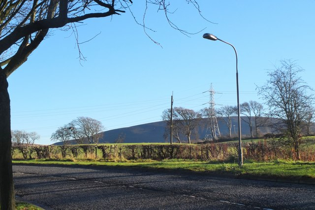 Black Hill in view from Balerno