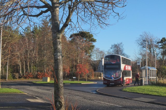 Bus turning circle, Balerno