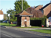 TM1422 : Bus shelter, Weeley by Robin Webster