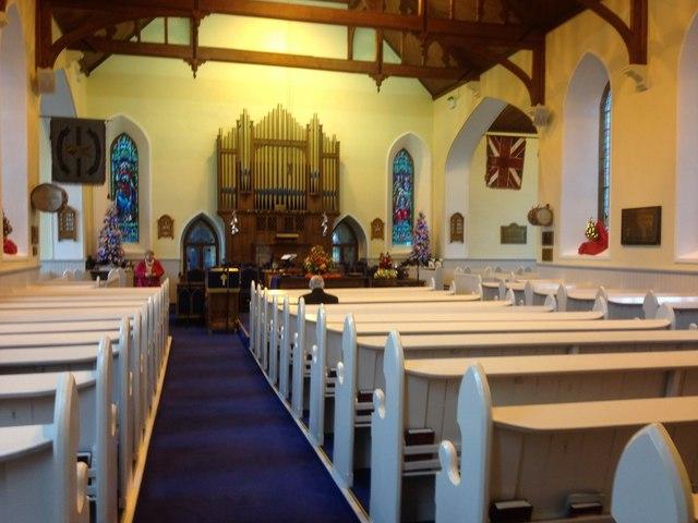 Trinity Presbyterian Church (interior)