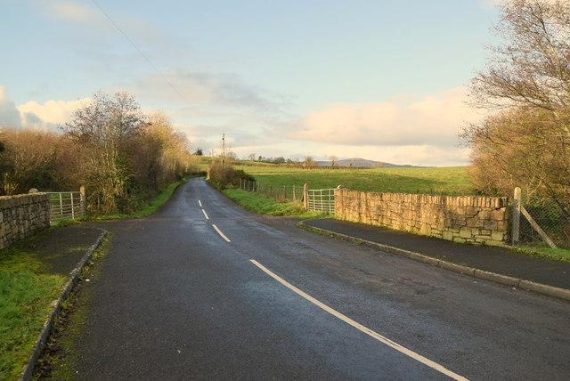 Bridge along Aghnamoyle Road