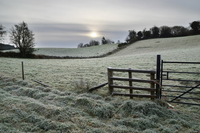 A frosty morning, Envagh