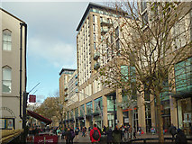 ST1876 : The Hayes, Cardiff by Robin Drayton