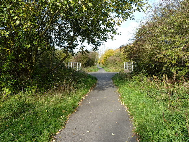 National Cycle Network Route 5 at Harden